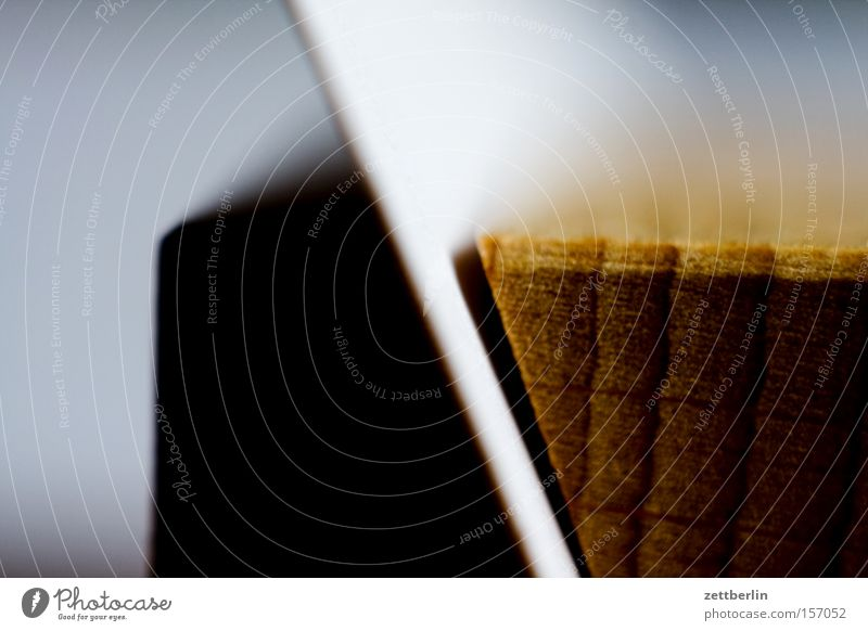 Visitenkarte Holz Arbeit & Erwerbstätigkeit Papier Postkarte Material Karton Druckerzeugnisse Schlitz