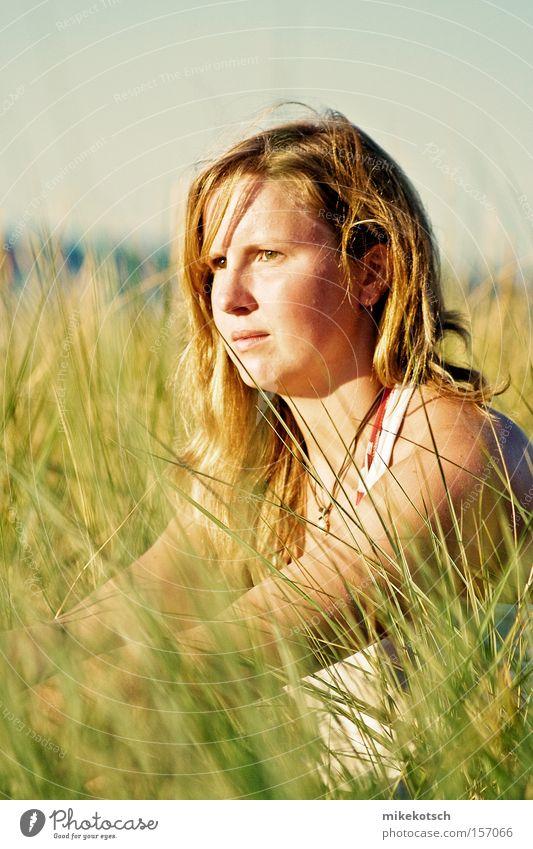 in the green Meer Sommer feminin Gras See Bikini Gewässer