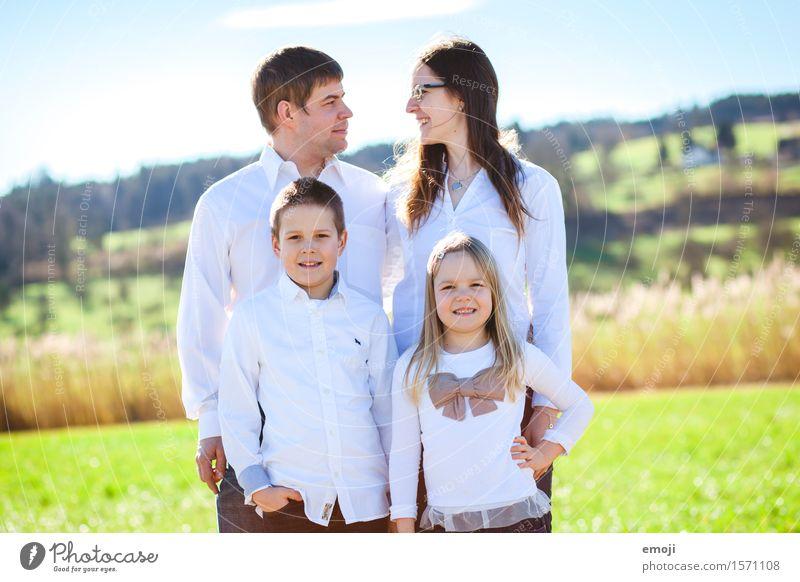 IV Mensch grün Erwachsene natürlich feminin Gesundheit Familie & Verwandtschaft Glück Zusammensein maskulin frisch Kindheit Fröhlichkeit Freundlichkeit Eltern