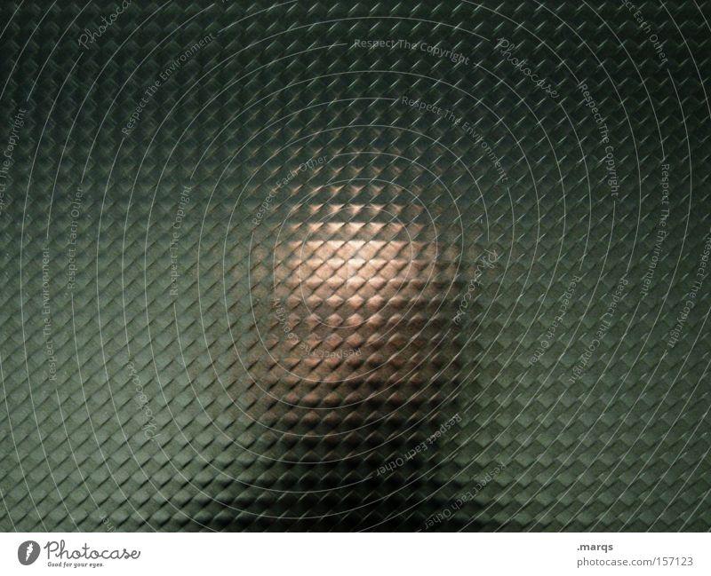 unknown Mensch Mann Erwachsene Kopf außergewöhnlich Angst verrückt gefährlich Lifestyle Coolness einzigartig geheimnisvoll Spiegel Wut bizarr Glatze