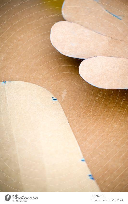 63 [schnittmuster] braun Kunst Papier Kultur Punkt Karton Basteln geschnitten kleben Kunsthandwerk Schneider Schneidern