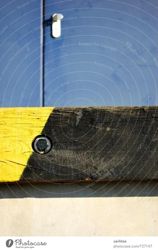 Rampe Arbeit & Erwerbstätigkeit Industrie Sicherheit Güterverkehr & Logistik Pause Lastwagen Warnhinweis Ware Warnschild Laderampe Warnfarbe
