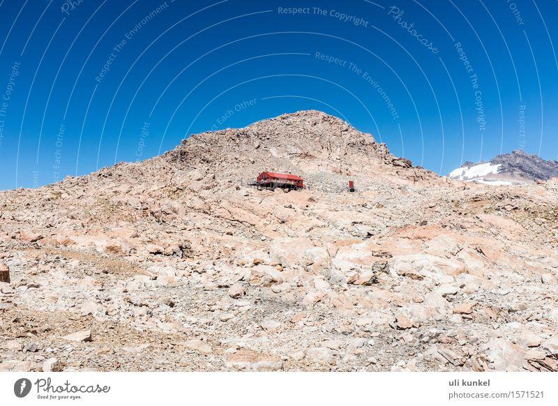 Mueller Hut Freizeit & Hobby Sommer Sonne Berge u. Gebirge wandern Natur Landschaft Erde Himmel Felsen Gipfel Gletscher Erholung Fitness Neuseeland