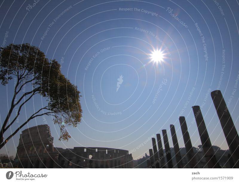 Die Entdeckung des Himmels Tourismus Sightseeing Städtereise Sonne Sonnenlicht Schönes Wetter Rom Italien Stadt Stadtzentrum Altstadt Religion & Glaube Dom