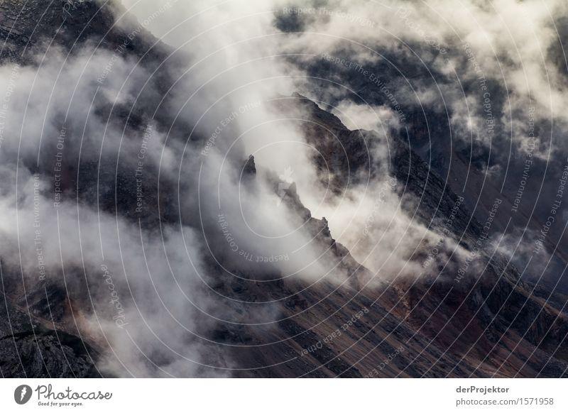 Nebelberge in den Dolomiten II Natur Ferien & Urlaub & Reisen Pflanze Sommer Landschaft Tier Ferne Berge u. Gebirge Umwelt Freiheit Felsen Tourismus wandern