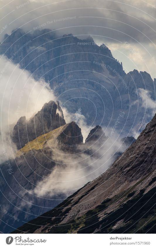 Lichterscheinung in den Wolken Ferien & Urlaub & Reisen Tourismus Ausflug Abenteuer Ferne Freiheit Berge u. Gebirge wandern Umwelt Natur Landschaft Pflanze Tier