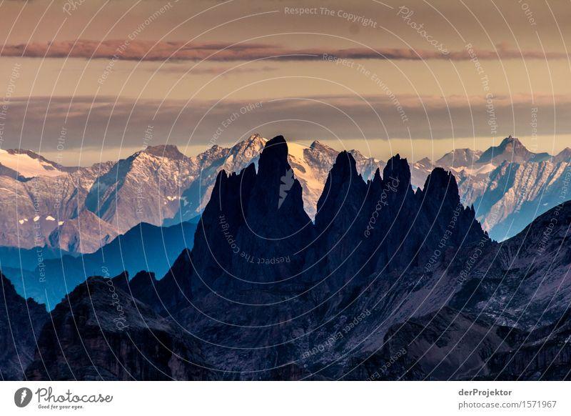 Sonnenaufgang in den Dolomiten 2 Ferien & Urlaub & Reisen Tourismus Ausflug Abenteuer Ferne Freiheit Camping Berge u. Gebirge wandern Umwelt Natur Landschaft
