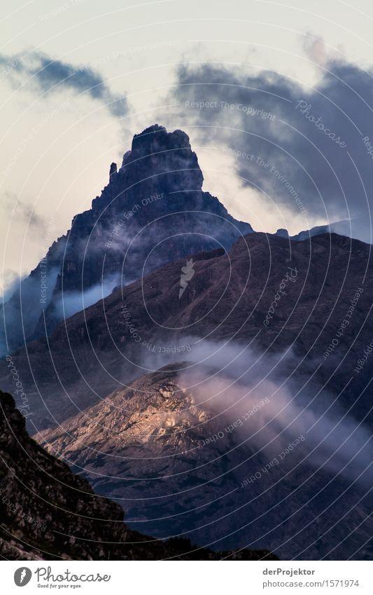 Ein schöner Morgen Natur Ferien & Urlaub & Reisen Pflanze Sommer Landschaft Tier Ferne Berge u. Gebirge Umwelt Freiheit Felsen Tourismus Zufriedenheit Nebel