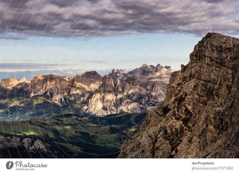 Sonnenaufgang am Rifugio Lagazuoi Ferien & Urlaub & Reisen Natur Sommer Pflanze Landschaft Tier Ferne Berge u. Gebirge Umwelt Tourismus Freiheit Felsen Ausflug