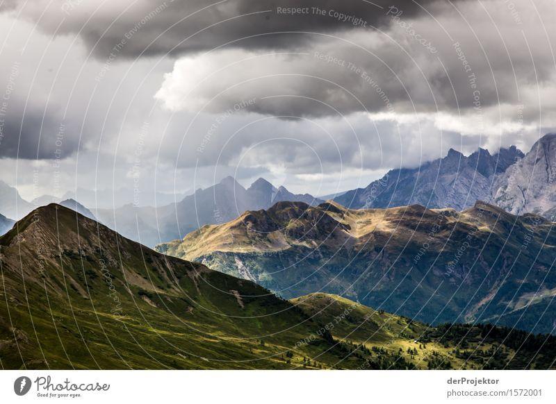 Da hinten wird es schöner. Ferien & Urlaub & Reisen Tourismus Ausflug Abenteuer Ferne Freiheit Berge u. Gebirge wandern Umwelt Natur Landschaft Pflanze Tier