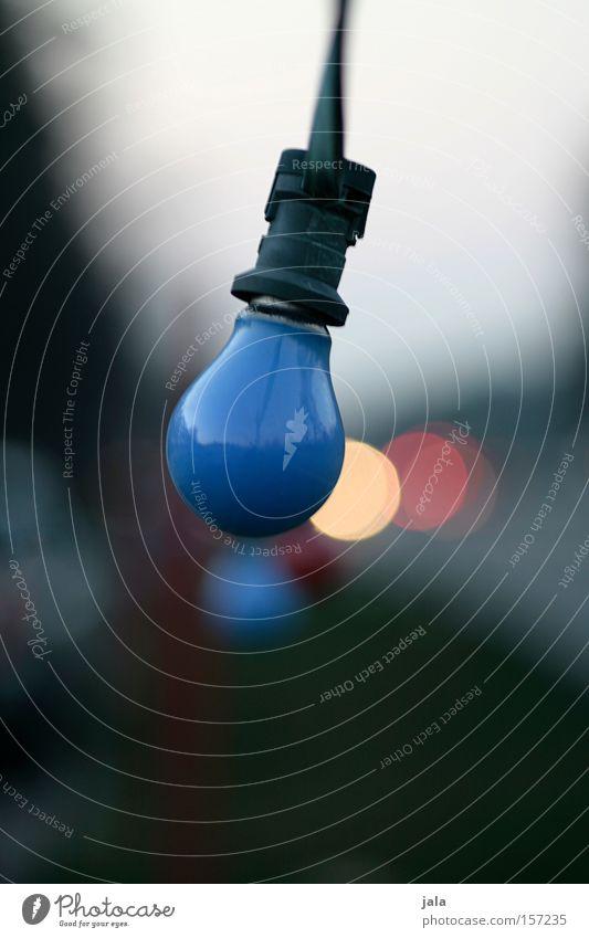 Feierabend blau Einsamkeit Straße dunkel Beleuchtung KFZ Technik & Technologie Gastronomie Verkehrswege Glühbirne Lichterkette Feierabend Elektrisches Gerät