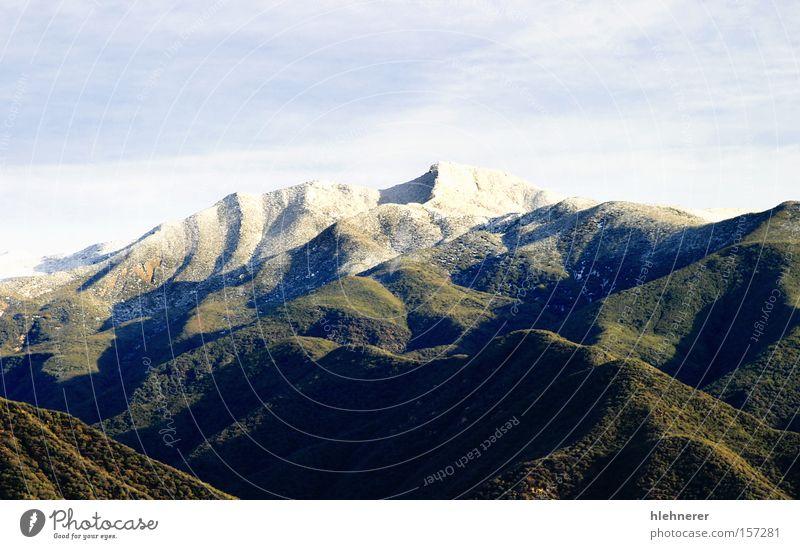 Natur Himmel weiß Winter kalt Schnee Berge u. Gebirge Landschaft Eis Felsen Tourismus Reisefotografie Tal Kalifornien