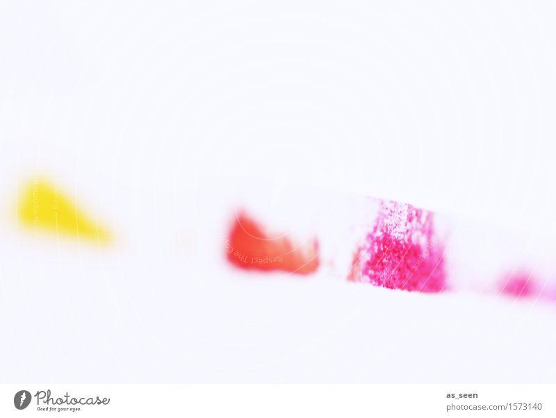Komposition Stil Design Leben harmonisch Kunst Maler Kunstwerk Gemälde Musik Frühling Sommer leuchten ästhetisch Fröhlichkeit mehrfarbig gelb rosa rot weiß