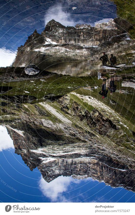 Spiegelberg Natur Ferien & Urlaub & Reisen Pflanze Sommer Landschaft Tier Ferne Berge u. Gebirge Umwelt Freiheit See Felsen Tourismus wandern Kraft Erfolg