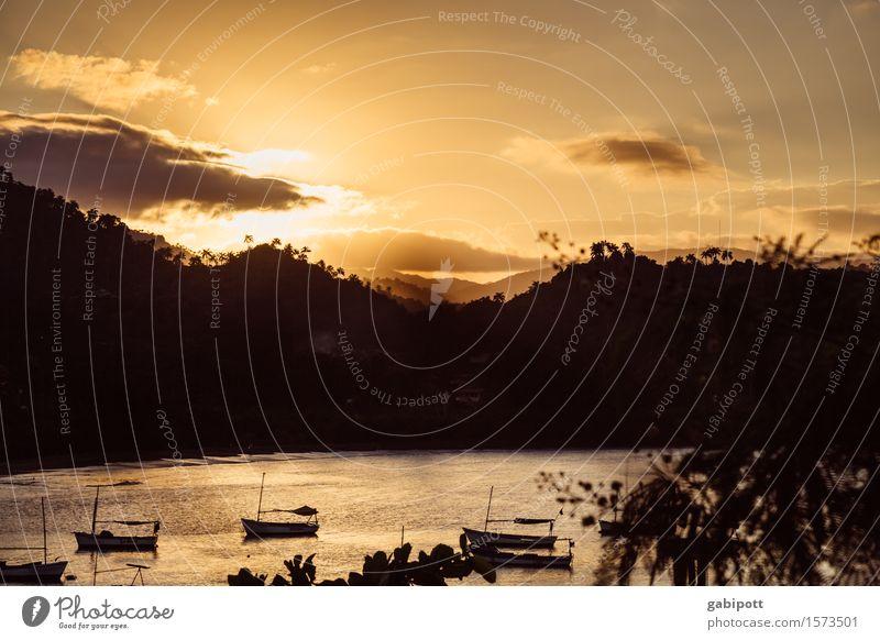 es ist nicht alles Gold was glänzt Natur Ferien & Urlaub & Reisen Sommer Sonne Meer Erholung Ferne Strand Berge u. Gebirge träumen Tourismus Ausflug