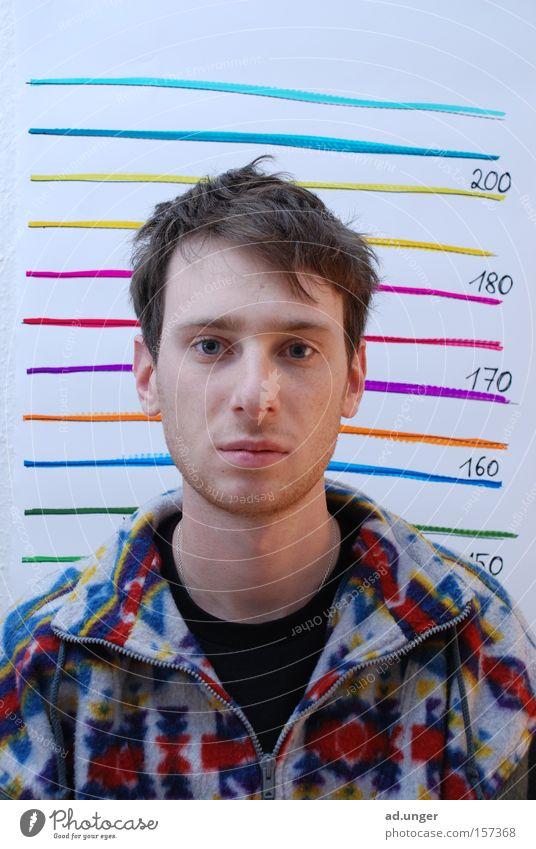garnicht so groß Haftstrafe verhaftet gefangen Prozess inhuman mehrfarbig Macht colored