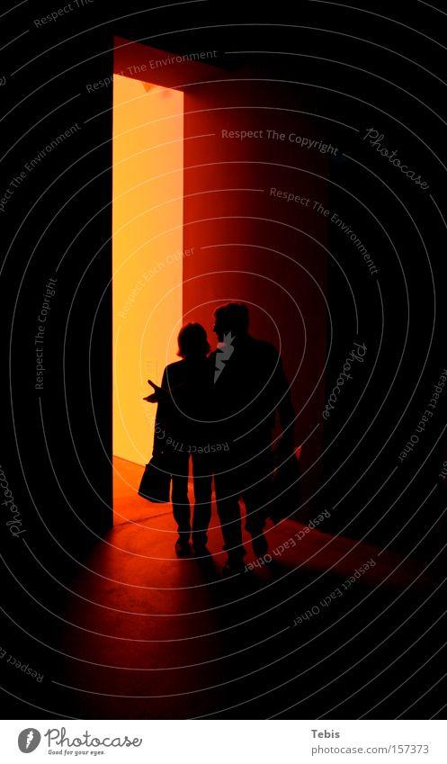 Coming From Hell Frau Mensch Mann rot dunkel Paar paarweise