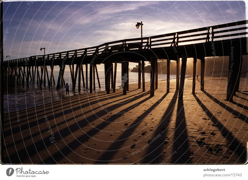 capitola, californien Meer Strand Steg Anlegestelle Kalifornien Nordamerika