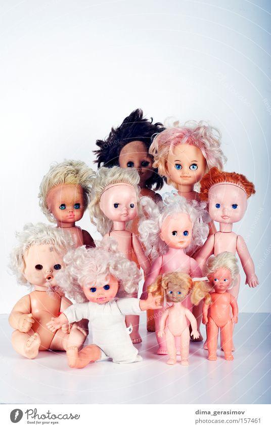 blau Farbe Auge Beine Angst Behaarung Lippen Spielzeug Puppe Panik Entsetzen Alptraum Spielzug
