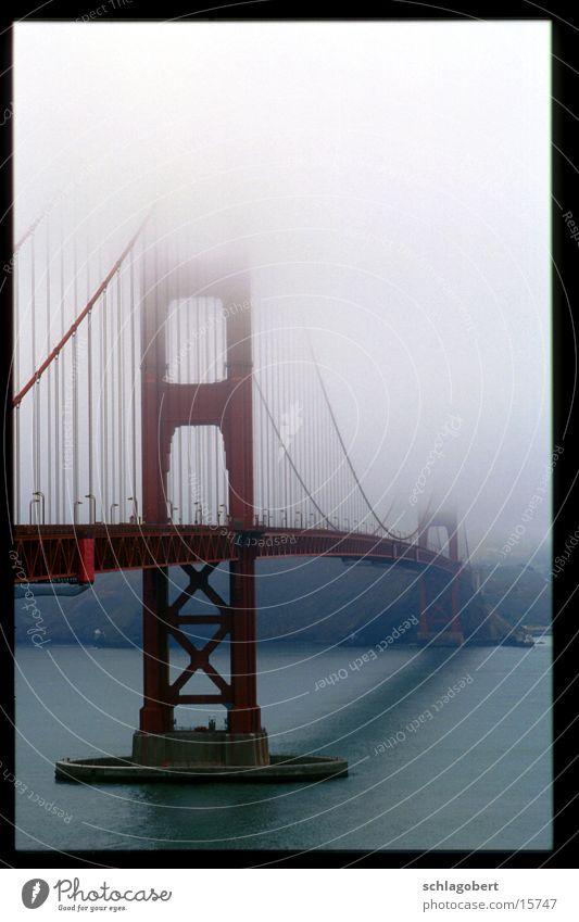 golden gate bridge Golden Gate Bridge San Francisco Nebel New York City Brücke Wasser