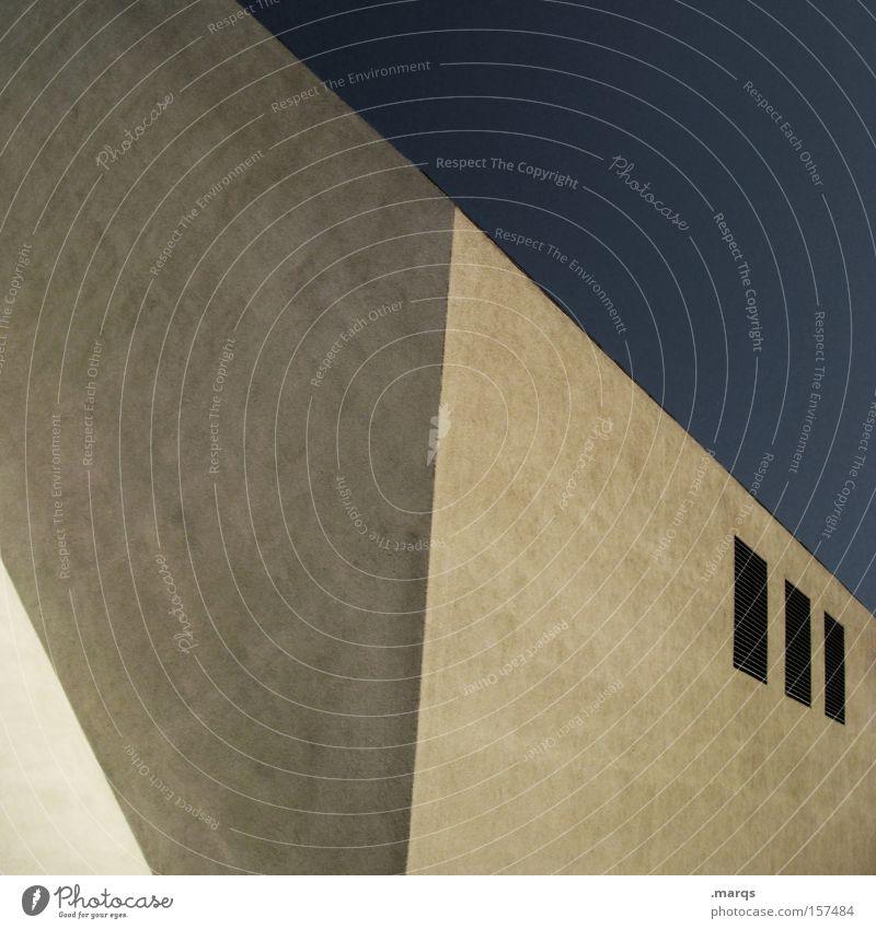 Trois Himmel Haus Architektur Gebäude Linie elegant Fassade Beton hoch Design groß außergewöhnlich neu Ecke Häusliches Leben