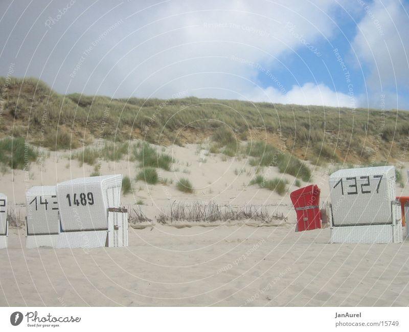 Strandkorbparadies Sylt Meer Strand Ferien & Urlaub & Reisen Europa Nordsee Strandkorb Sylt