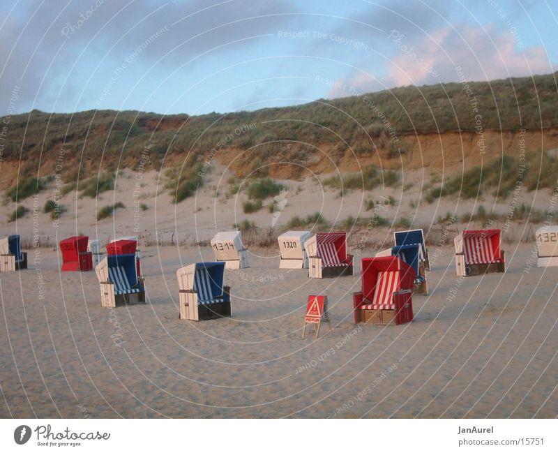 Strandkorbparadies Sylt Meer Ferien & Urlaub & Reisen Europa Nordsee