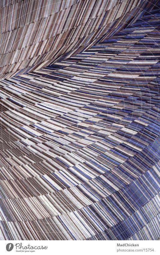Cheminée d'aération Paris Frankreich Mosaik Skulptur Moderne Architektur abstrakt Design Muster Europa Mosaique Sculpture La Défense Luftschacht moderne Kunst