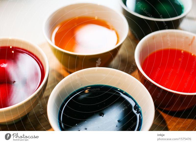 Ostereierfarbe Lifestyle Freizeit & Hobby Basteln färben Farbstoff Farbtopf Schalen & Schüsseln Dekoration & Verzierung mehrfarbig Vorfreude Farbe Kreativität