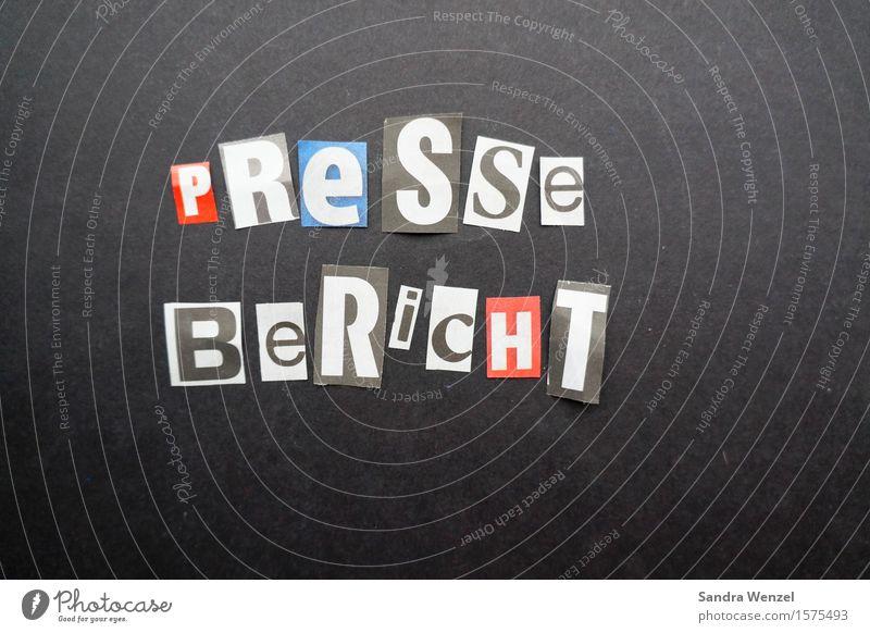 Pressebericht Schriftzeichen Medien Zeitung nachhaltig Printmedien Mitteilung Journalismus