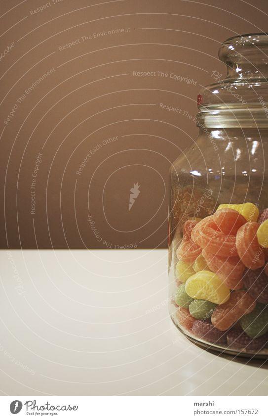 willst du ein Bonbon? Freude Ernährung Stimmung Glas süß Dekoration & Verzierung Kindheit lecker Süßwaren Überraschung Bonbon sortieren lutschen Sünde