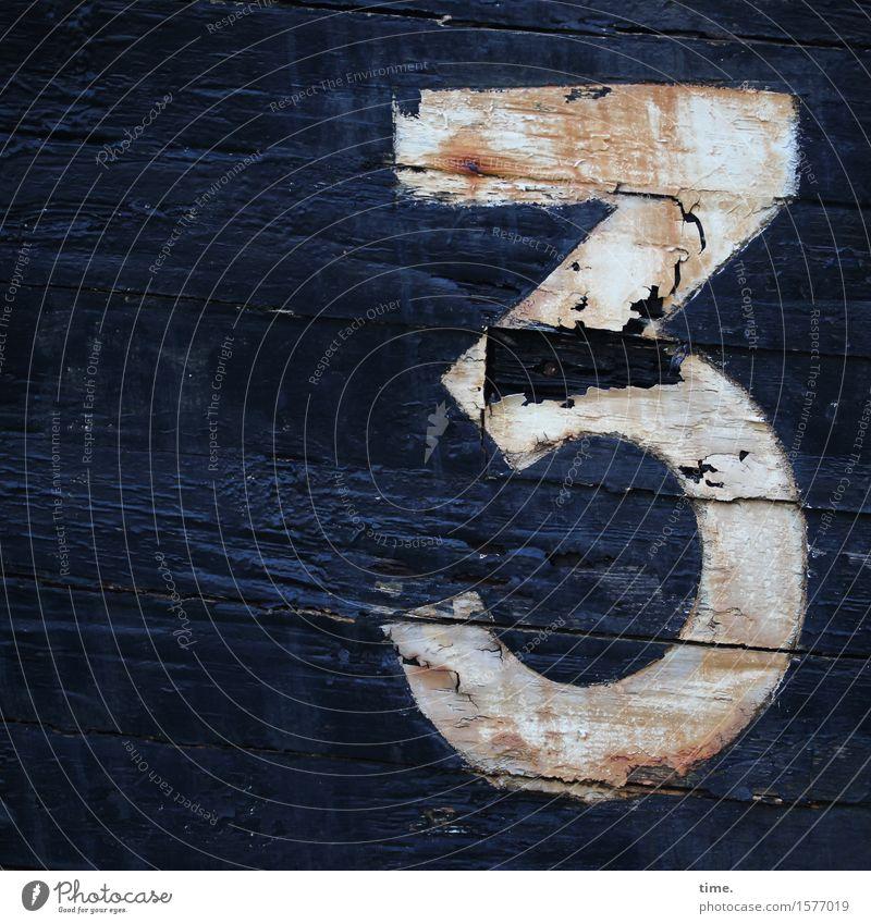 befriedigend alt schön Holz Zeit Linie Wasserfahrzeug Design ästhetisch Vergänglichkeit kaputt Wandel & Veränderung historisch Ziffern & Zahlen geheimnisvoll