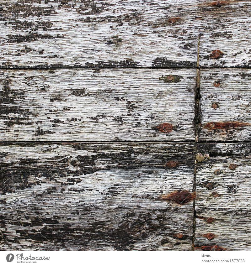 grausam | Sargnägel Schifffahrt Schiffswrack Schiffsplanken Bordwand Nagel Rost Holz Metall alt historisch kaputt maritim Wahrheit Sorge Trauer Tod Müdigkeit