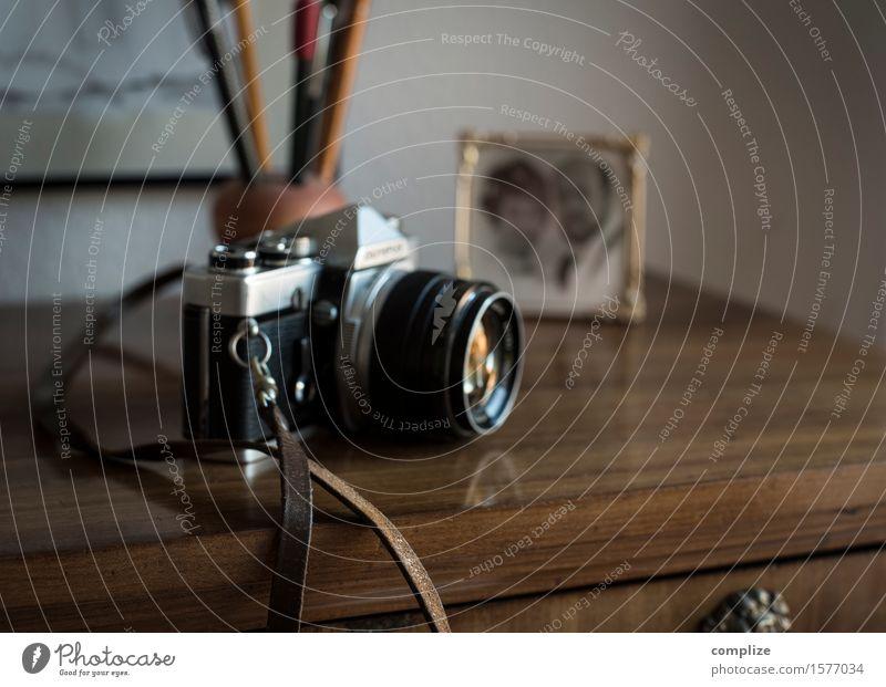 alte analoge Kamera Ferien & Urlaub & Reisen schön Innenarchitektur Stil Lifestyle Feste & Feiern Paar Wohnung Raum Häusliches Leben Büro Freizeit & Hobby