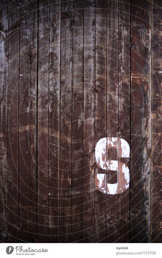 """""""S"""" ist soweit alt weiß Wand Holz Gebäude braun Wohnung Kommunizieren Schriftzeichen Buchstaben Hütte Typographie Holzbrett Wort Riss Scheune"""