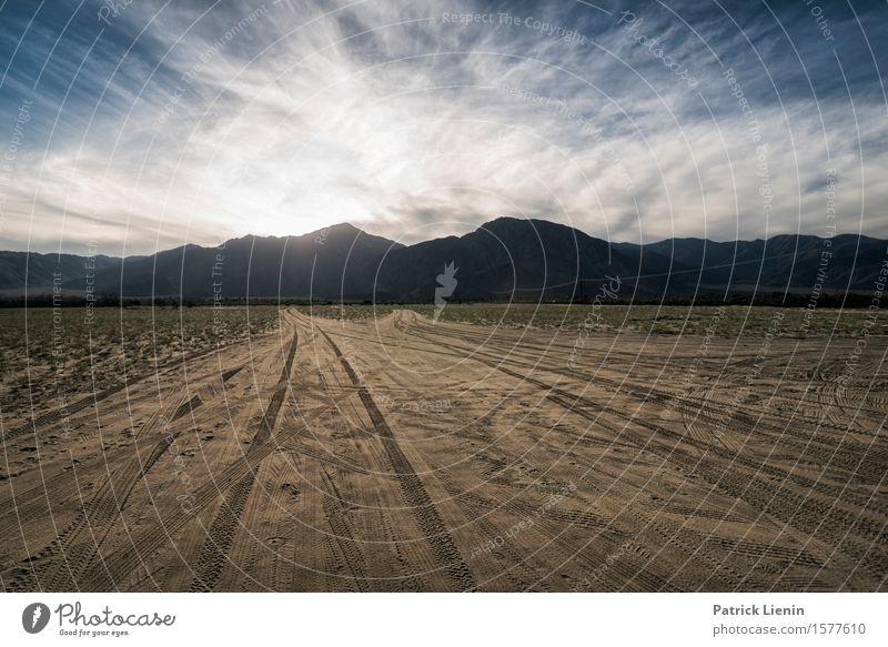 Anza-Borrego Wüste schön Ferien & Urlaub & Reisen Abenteuer Ferne Expedition Sommer Sonne Berge u. Gebirge Umwelt Natur Landschaft Urelemente Erde Sand Himmel