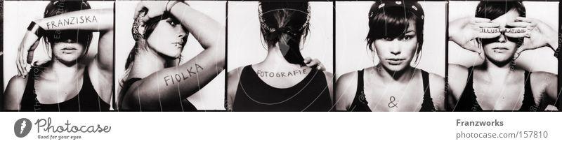 Franziska Fiolka. Porträt Schwarzweißfoto Fotografie Kunst planen Design Fotokamera Dinge Dienstleistungsgewerbe Grafik u. Illustration Kreativität