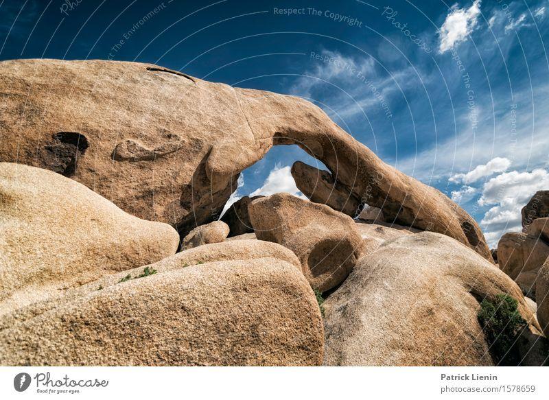 Elephant Arch Himmel Natur Ferien & Urlaub & Reisen blau schön Sommer Landschaft Wolken Ferne Berge u. Gebirge Umwelt Freiheit Felsen Tourismus Wetter wandern