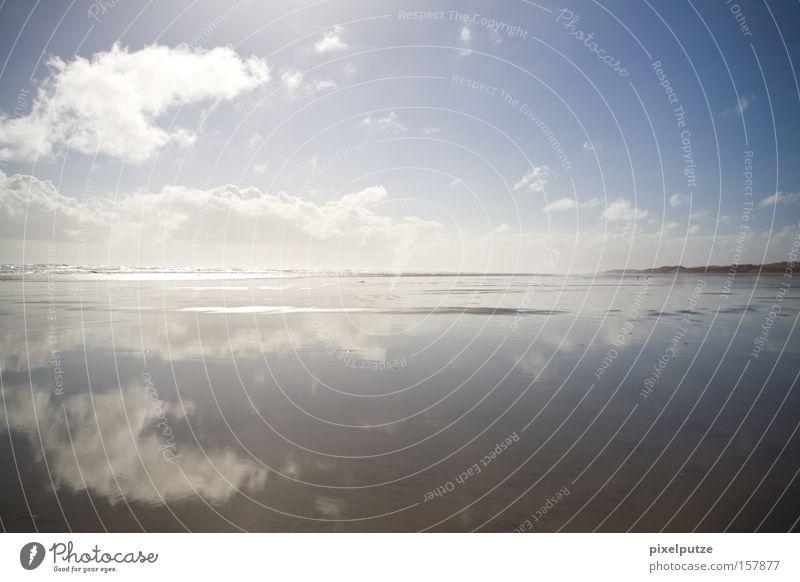 coastline Meer Strand Wolken Wasser Neuseeland Natur Reflexion & Spiegelung Ferne Küste Himmel
