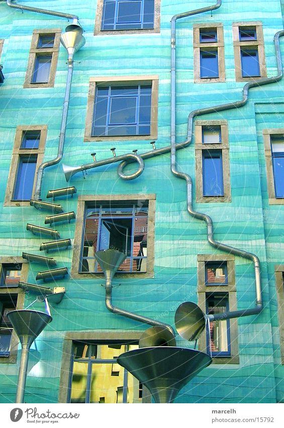 Das Wasserhaus Wasser Kunst Architektur Dresden Sachsen