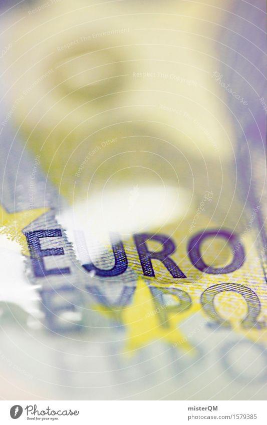 Liquidierter Euro Kunst Kunstwerk ästhetisch Europa Europäer Eurozeichen Europatag Euroschein Geldscheine Kapitalwirtschaft Finanzkrise Kapitalismus