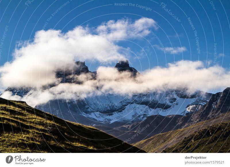 Scöne Aussicht am Morgen Natur Ferien & Urlaub & Reisen Pflanze Sommer Landschaft Tier Freude Ferne Berge u. Gebirge Umwelt Wiese Freiheit Felsen Tourismus