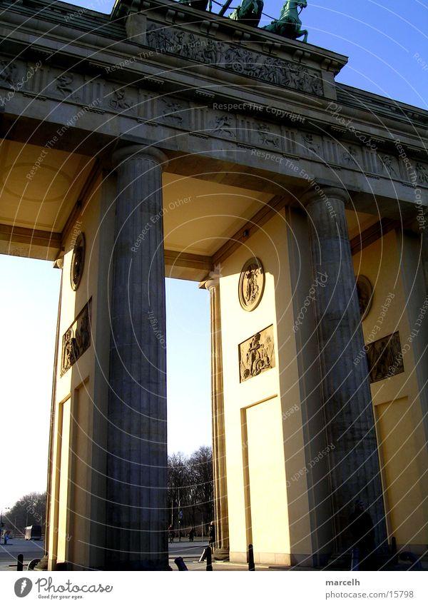 Brandenburger Tor Berlin Europa Hauptstadt