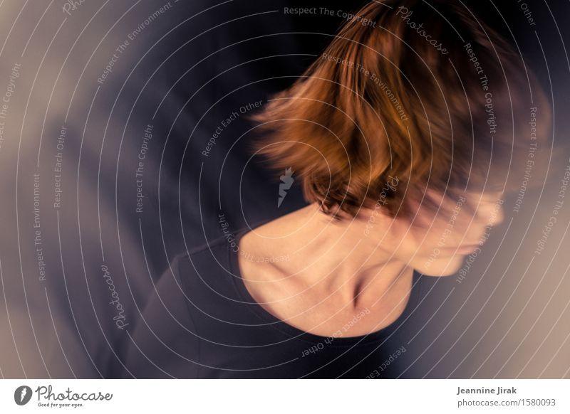 Tagtraum Mensch Leben Traurigkeit feminin Kopf Stimmung träumen Angst Tanzen Stress drehen Trennung Enttäuschung Traumtänzer