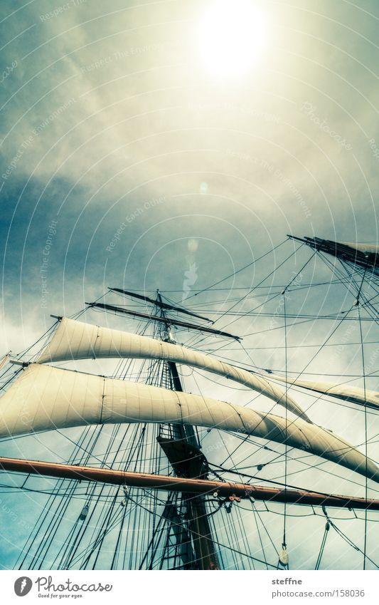 Network 2.0 Meer Ferien & Urlaub & Reisen Wasserfahrzeug Macht Schifffahrt Segel Segelboot Pirat Segelschiff beeindruckend maritim Krieg gewaltig Marine