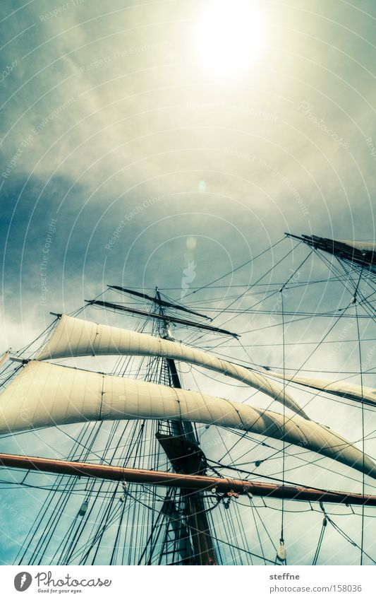 Network 2.0 Wasserfahrzeug Segelschiff maritim Marine Pirat Segelboot beeindruckend Macht gewaltig Schlacht Meer Ferien & Urlaub & Reisen Schifffahrt Dreimaster