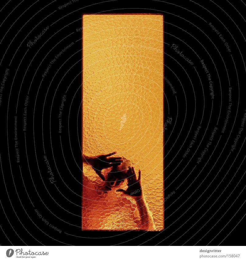 Is there anybody out there? Fenster Suche Kommunizieren Aussicht Neugier durchsichtig Interesse unklar Sucht schemenhaft Einblick Ausweg durchscheinend