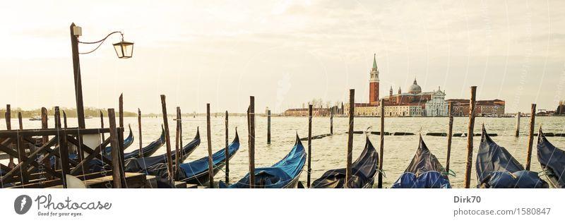 Venezianisches Panorama, klassisch, bei Tage Lifestyle elegant Stil Ferien & Urlaub & Reisen Tourismus Städtereise Himmel Sonnenlicht Frühling Schönes Wetter