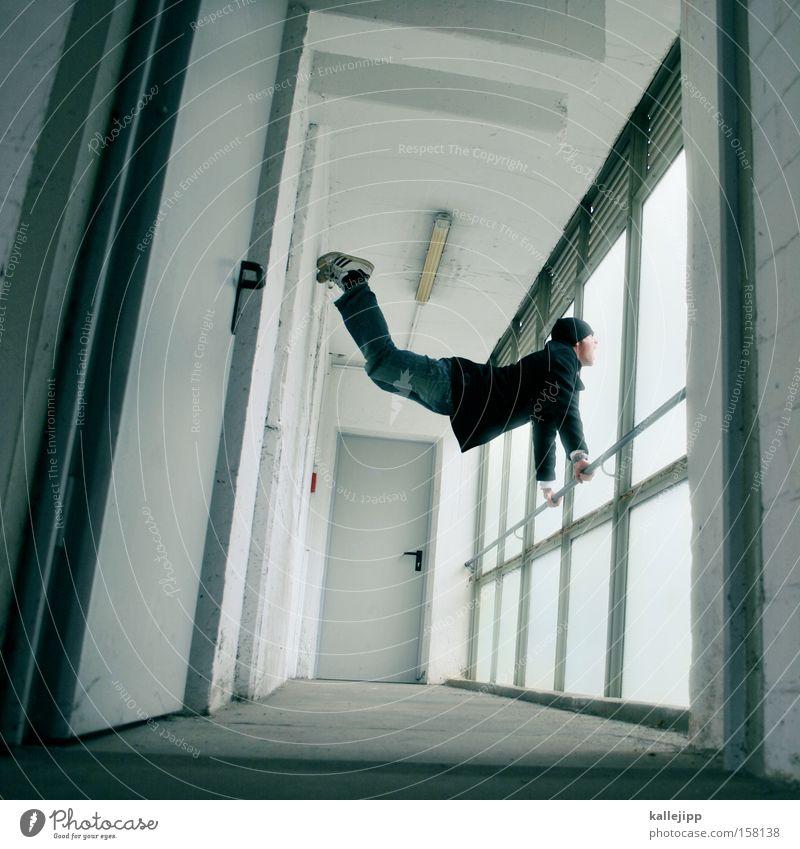 -schwung Mensch Mann Architektur Bewegung Werkstatt Politische Bewegungen Turnen üben Parkhaus Drehung Politik & Staat Beruf biegen Sportgerät Schwindelgefühl