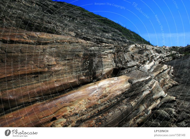 MO I RANA Berg Norwegen Skandinavien Berge u. Gebirge wandern Gletscher Holz Ferien & Urlaub & Reisen Stein Felsen Hügel Landschaft Strukturen & Formen